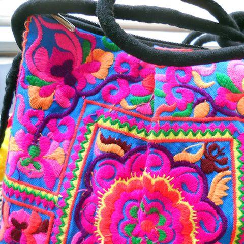 Ethnic Style Full Embroidery Soft Bag – Stuff I Want