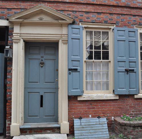 13 best images about front door on pinterest front door for Slate blue front door