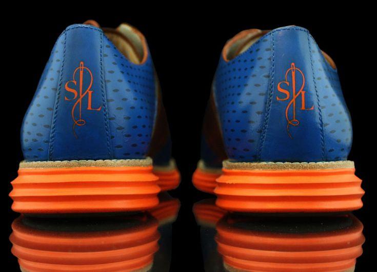 "Cole Haan Lunargrand ""Knicks"" Customs by Revive for Spike Lee - SneakerNews.com"