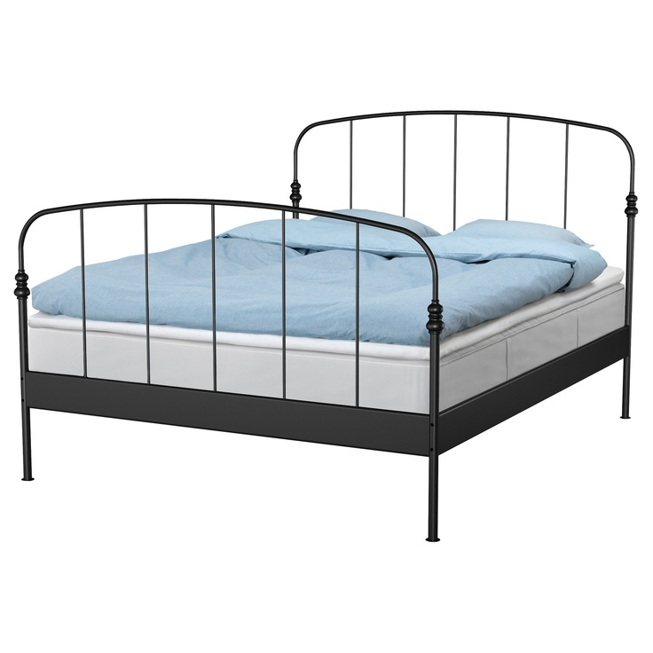 This should be in Single!!  IKEAGuest Room, Bed Frames, Storage Boxes, Guest Bedrooms, Metals Beds Frames, Guest Beds, Wrought Iron, Beds Storage,  Day Beds
