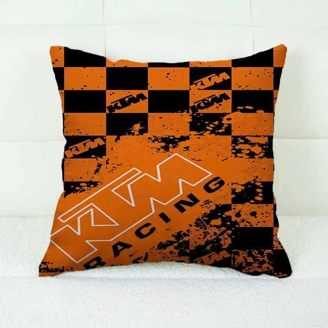 "KTM Splash Logo Custom Decorative Throw Pillow Case 18"" x 18"" #Handmade #pillowcase #pillowcover #cushioncase #cushioncover #best #new #trending #rare #hot #cheap #bestselling #bestquality #home #decor #bed #bedding #polyester #fashion #style #elegant #awesome #luxury #custom #ktm #racing #splash #redbull #motogp #sport"