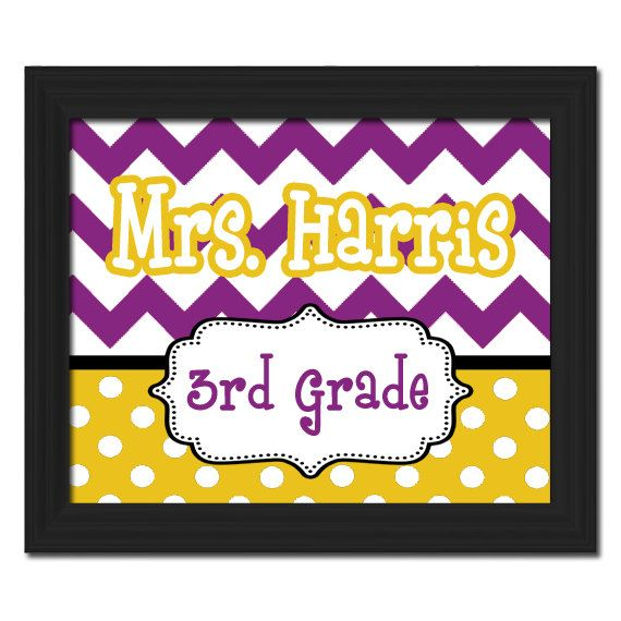 104 best Teacher Canvases images on Pinterest | Teacher name plates ...