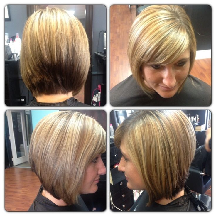 Inverted bob, back view is too choppy | Hair cut | Pinterest