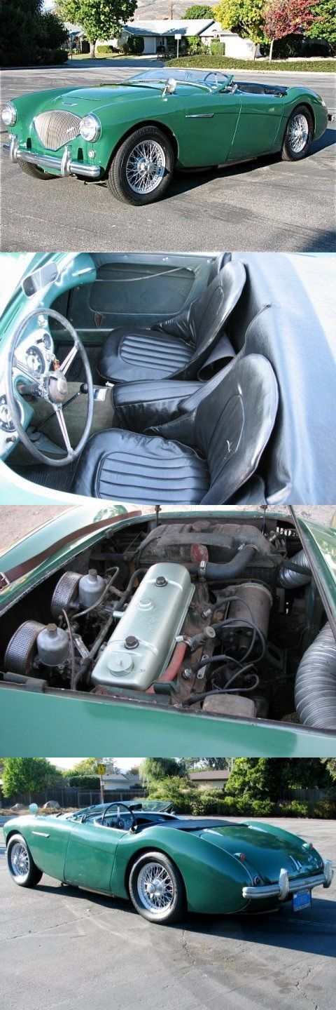 1954 Austin Healey 100/4..Re-pin....Brought to you by Agents of #CarInsurance at #HouseofinsuranceEugene