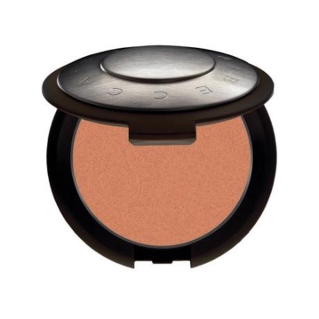 BECCA Cosmetics Mineral Blush in Wild Honey (Peachy nude) #BECCACosmetics #MineralBlush