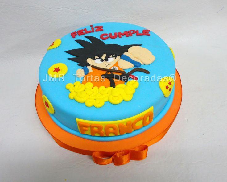 Tortas Decoradas Dragon Ball   tortas   Pinterest