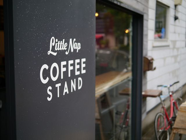 Little Nap Coffee Stand   Tokyo, Japan