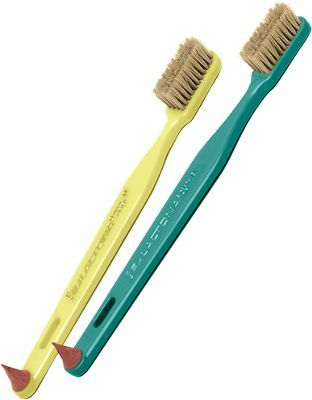 Natural-bristle toothbrushes last longer and clean better ...