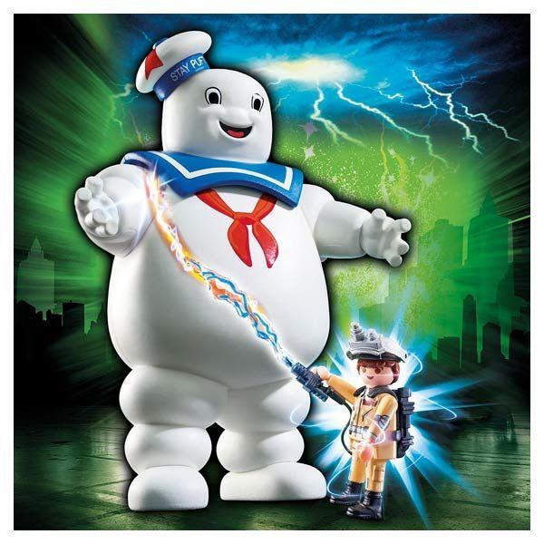 9221-Playmobil Ghostbusters Bibendum Chamallow Playmobil : <p>Plonger dans l'univers <strong>SOS Fantôme</strong> avec le <strong>héros Ray Stantz et le Bibendum Chamallow</strong> grâce aux...King Jouet, retrouvez tout l'univers, Playmobil - Jeux d'imitation & Mondes imaginaires