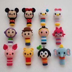 Disney rattles