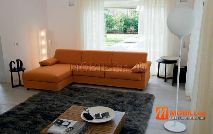 CHARON угловой диван раскладной с ортопедическим матрасом, модерн, Италия MOBILI DIVANI