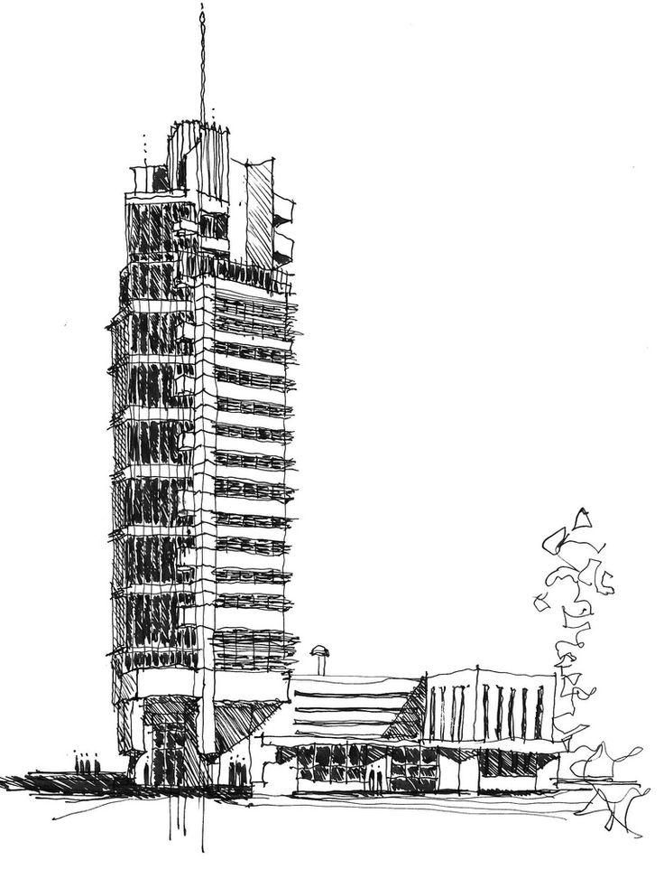 best 25  architectural sketches ideas on pinterest