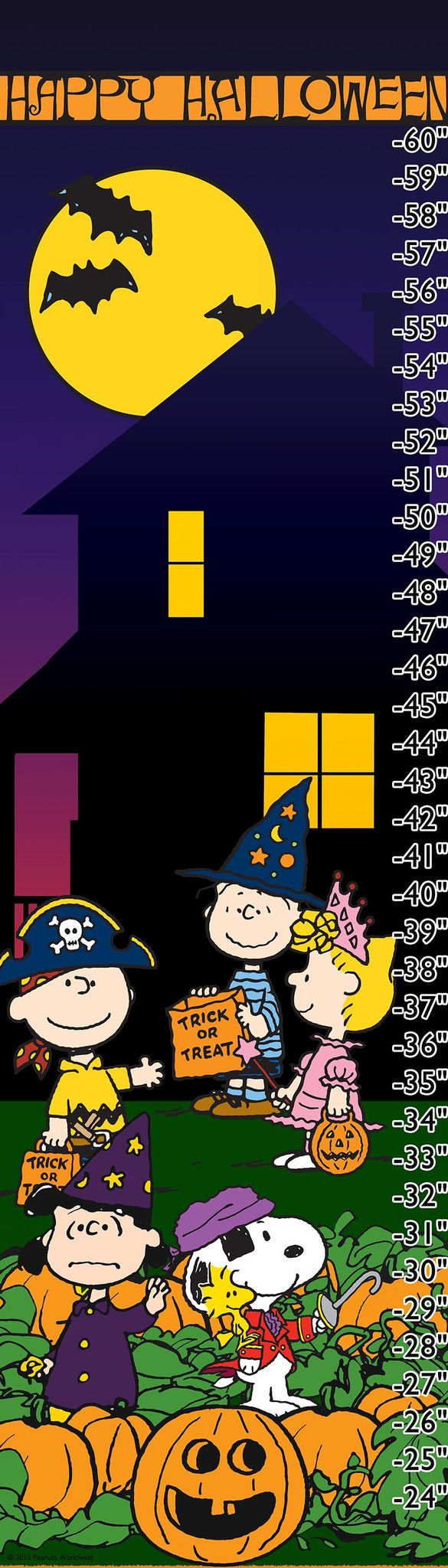 Description: Happy Halloween! The Peanuts gang trick-or-treats in this Peanuts…