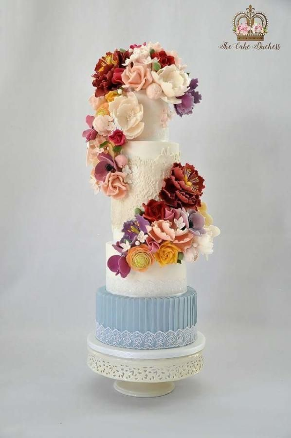 968 best Lace Cakes images on Pinterest Lace cakes Beautiful