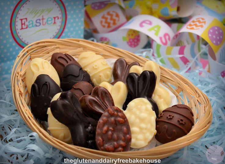 Easter Chocolate Crackle (Vegan)