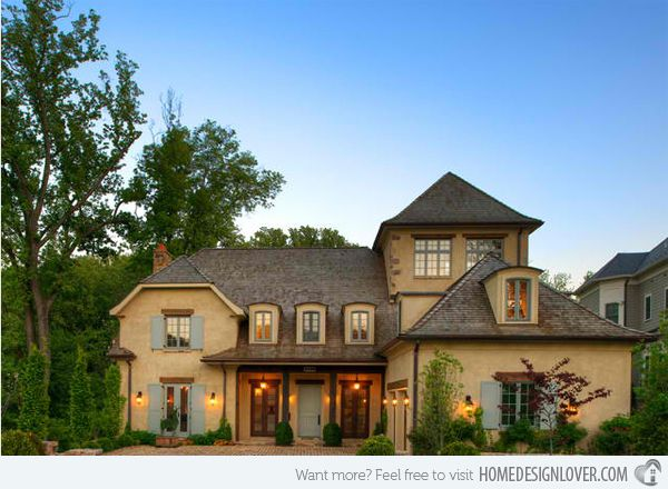 20 Different Exterior Designs Of Country Homes Part 66