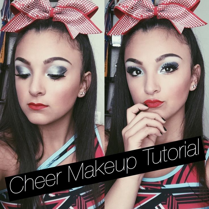 Cheer Makeup Tutorial|Santanna Garcia