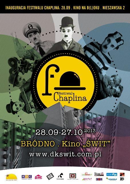 Festiwal Chaplina - 28 września - 27 października 2013 r. - Warszawa