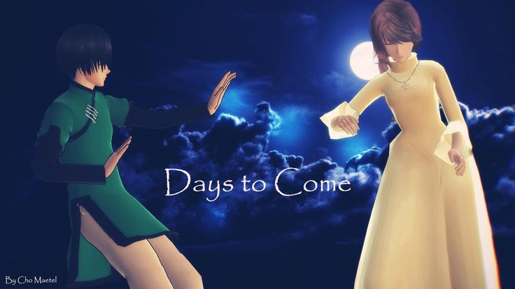 [MMD Saiyuki]Days to Come(Hakkai and Kanan)