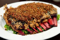 Goat or Lamb Ribs, Dong-Bei Style (from Manchuria/Guandong, China)