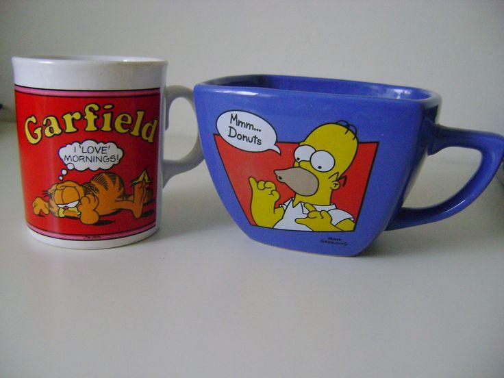 Easter egg mugs!