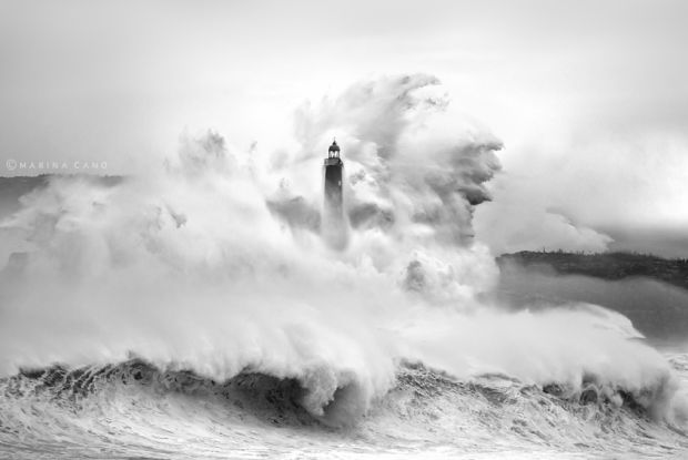 Incredible Photographs of Storms Reveal the RawThis photo was taken by Marina Cano & is featured in Beauty of Nature - BlazePress
