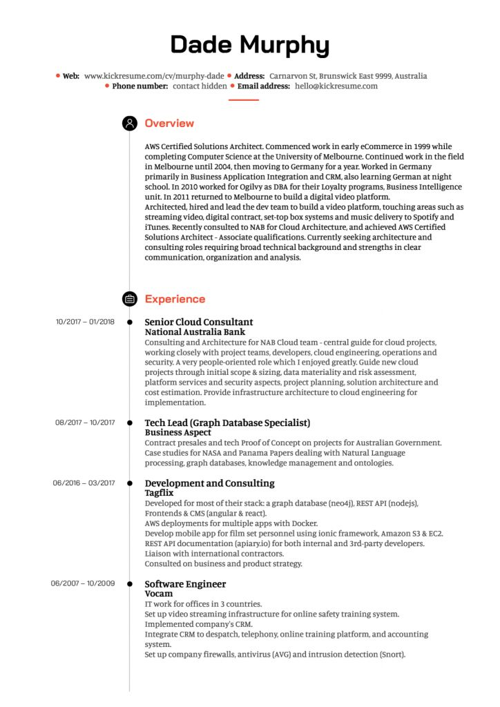 It Solution Architect Resume 2021 Architect Resume Architect Resume Sample Resume Examples