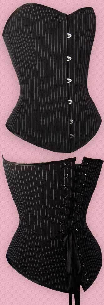 Special offer by NaughtySmile, please check this link for Steel Boned Corsets http://www.organiccorsetusa.com/specials.php Black Pinestripe Steel Boned Corset 130/125 $ 59.99