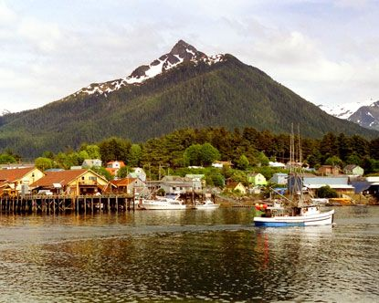 Sitka, Alaska -- I've wanted to go there ever since I saw 'The Proposal' with Ryan Reynolds & Sandra Bullock..