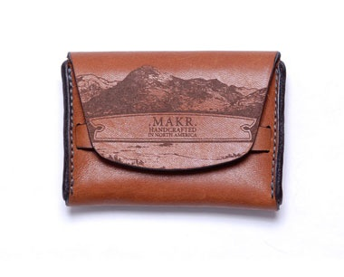 Flap Landscape saddle wallet: cool and easy