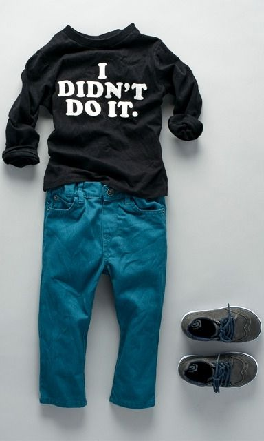 """I didn't do it."" 
