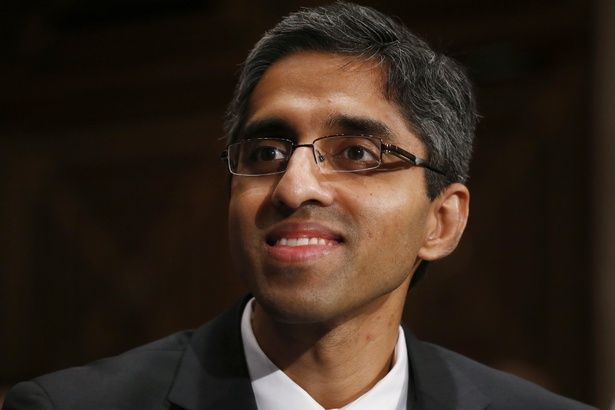 Finally, a new surgeon general.  One year, one month, and two days after his selection, the Senate confirmed Vivek Murthy to a post that had been vacant since July.