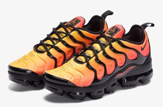 best cheap 9d117 aa26a Coming Soon  Nike Air VaporMax Plus Sunset The Nike Air VaporMax Plus makes  its debut
