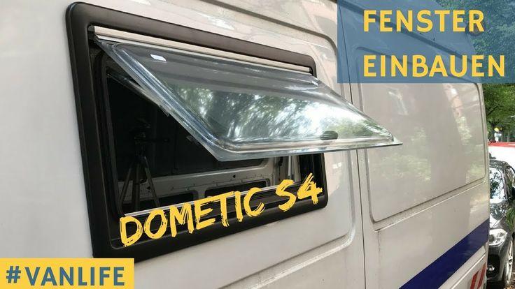 Wohnmobil Fenster einbauen Seitz S4 Sprinter Van