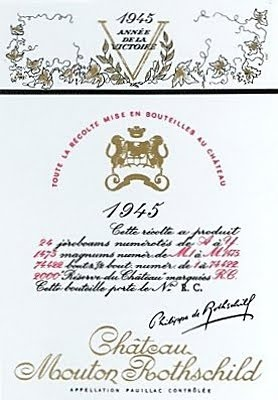 Château Mouton-Rothschild 1945 by Philippe Jullian
