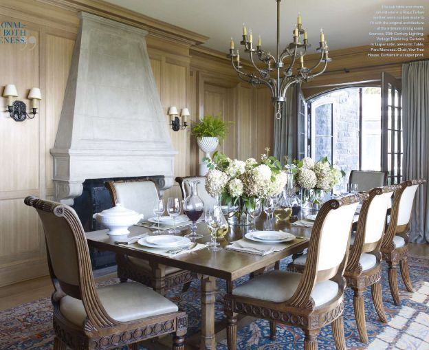 Best Dining French Country Images On Pinterest Kitchen - French country dining table
