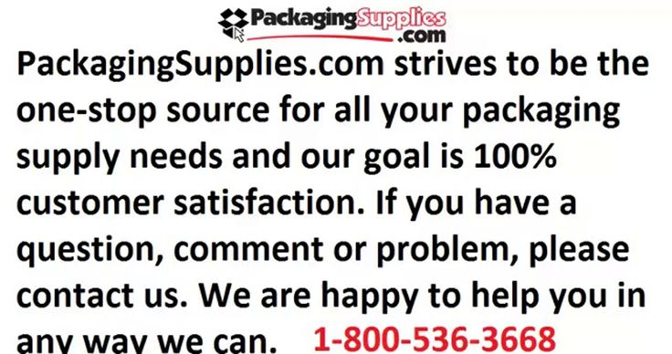 Packaging and Shipping Supplies