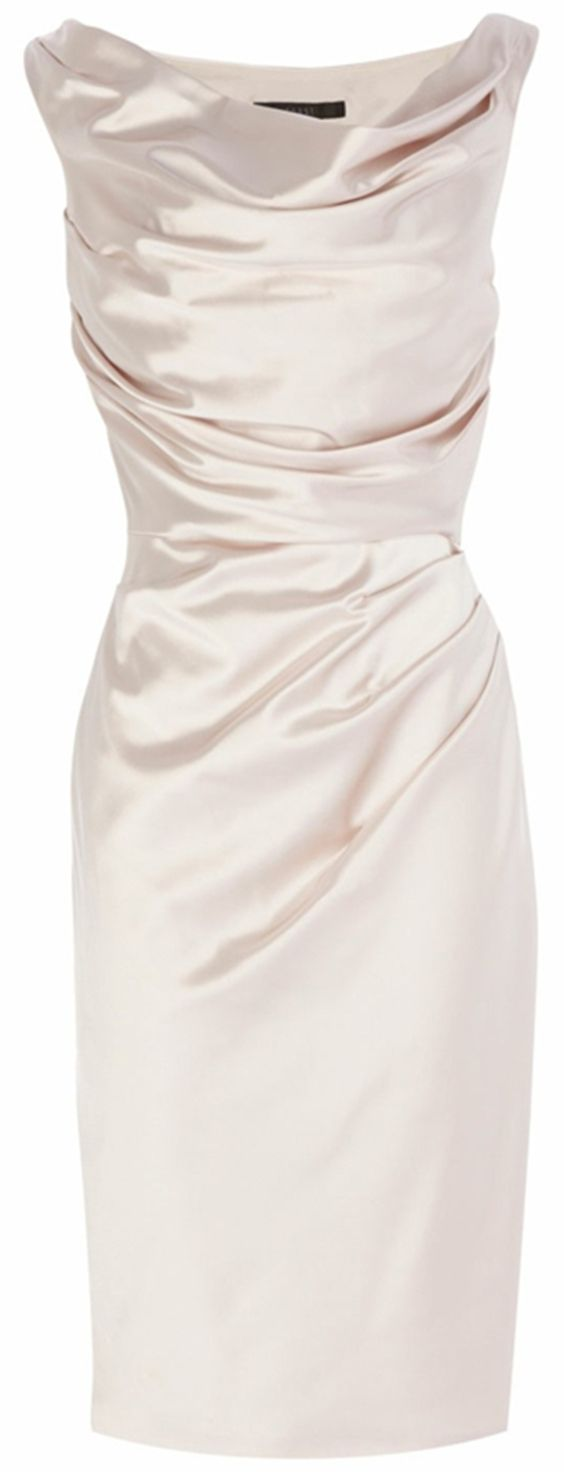 Bodycon Bateau Sleeveless Light Champagne dress for mother of the bride, Elastic Satin Mother of the Bride Dress