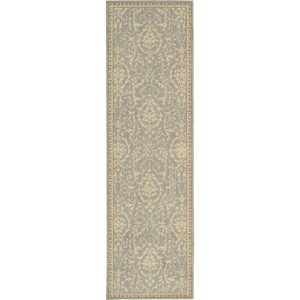 Riviera Hallway Runners RI04 Slate by Nourison - Free UK Delivery - The Rug Seller