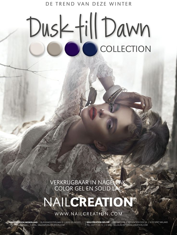 Winter 2013-2014 trend collection Nail Creation: Dusk till Dawn