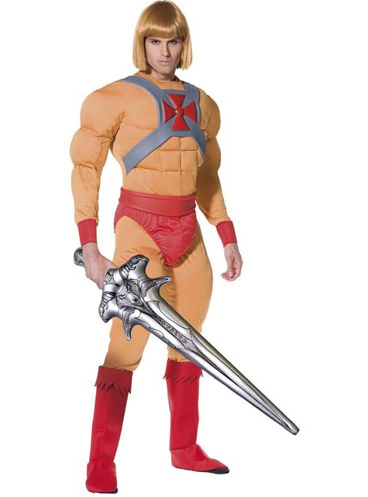 Disfraz He-Man Masters del Universo para hombre