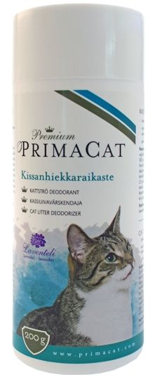 Premium PrimaCat Kissanhiekkaraikaste, laventeli - PetNetstore 4,90€