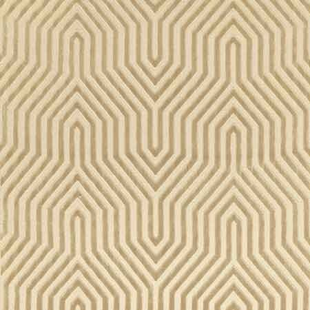Bed Pillow Fabric 66191, Vanderbilt Velvet, Greige, Schumacher Fabrics