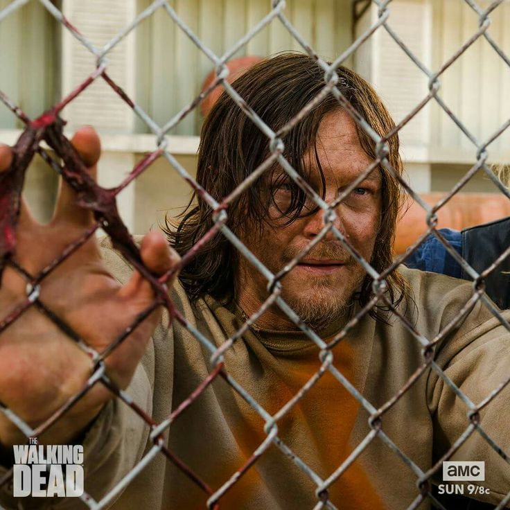 Daryl being held captive  - TWD