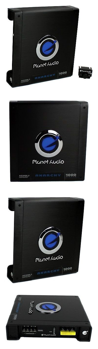 Car Amplifiers: Planet Audio Ac1000.2 1000W 2 Channel Car Amplifier Power Amp Mosfet Ab Ac10002 -> BUY IT NOW ONLY: $59.7 on eBay!