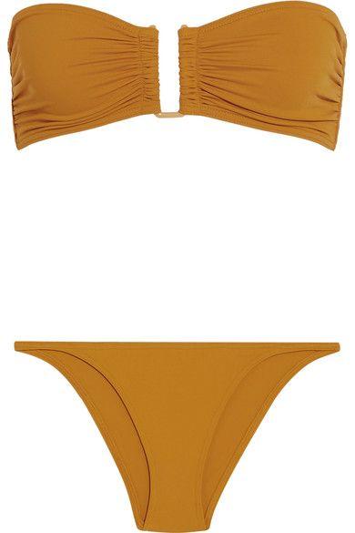 Eres - Les Essentiels Show Bandeau Bikini Top - Saffron