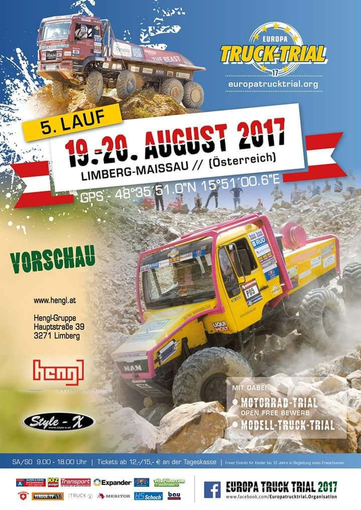 https://flic.kr/p/TqNGhQ   EUROPA TRUCK TRIAL 2017   WWW.EUROPATRUCKTRIAL.ORG Truck Trial is a motor sport where it comes to driving trucks or German truck in difficult terrain. You have to maneuver his truck through the previously inserted by the organizers gates with a lot of skill and ability. These goals are not easily accessible, so that it is done to the drivers and their passengers not easy. In the sections that are driven, man and machine are pushed to their limits. The rating takes…