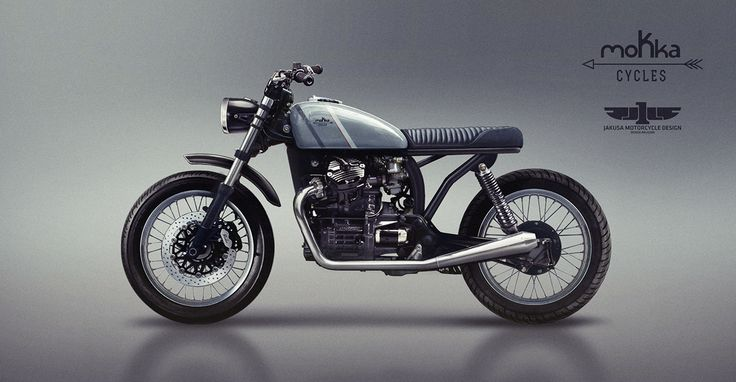 CX500 Designed for Mokka Cycles on Behance