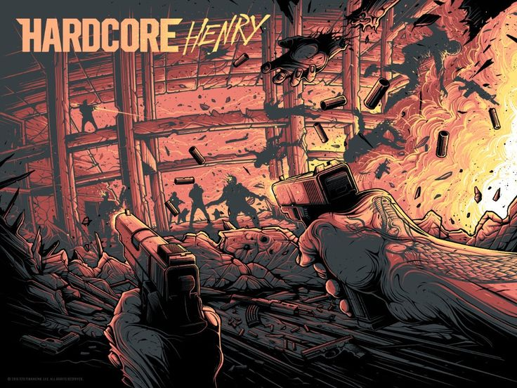 Hardcore Henry Posters by Dan Mumford and Adam Rabalais Release From Hero…