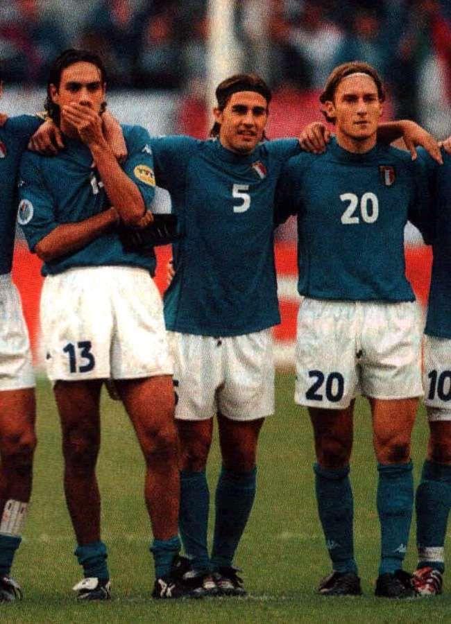 Nesta, Il Capitano (Cannavaro)  Totti